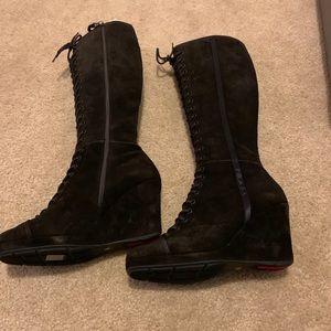 Women's Prada Calzature Donna Boots